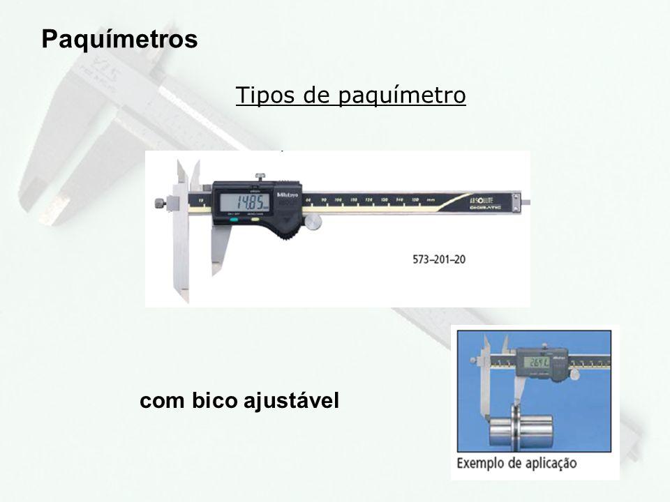 10 Tipos de paquímetro Paquímetros com relógio