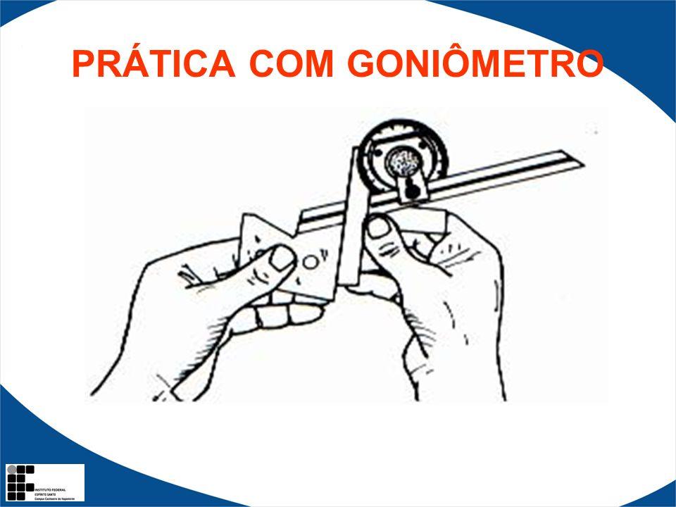 PRÁTICA COM GONIÔMETRO