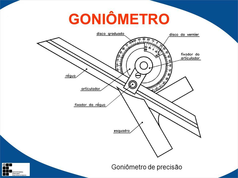 GONIÔMETRO Goniômetro de precisão