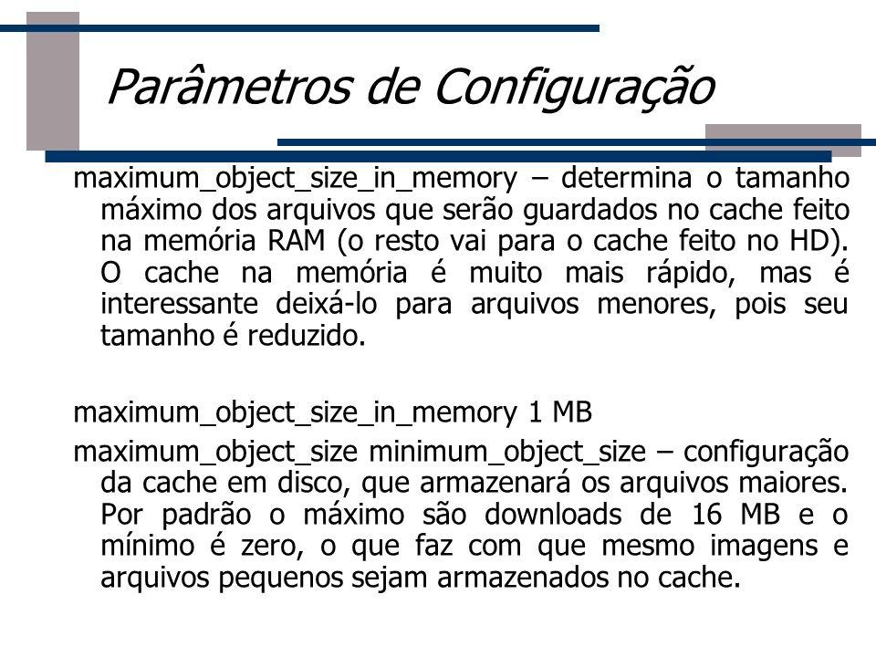maximum_object_size_in_memory – determina o tamanho máximo dos arquivos que serão guardados no cache feito na memória RAM (o resto vai para o cache fe