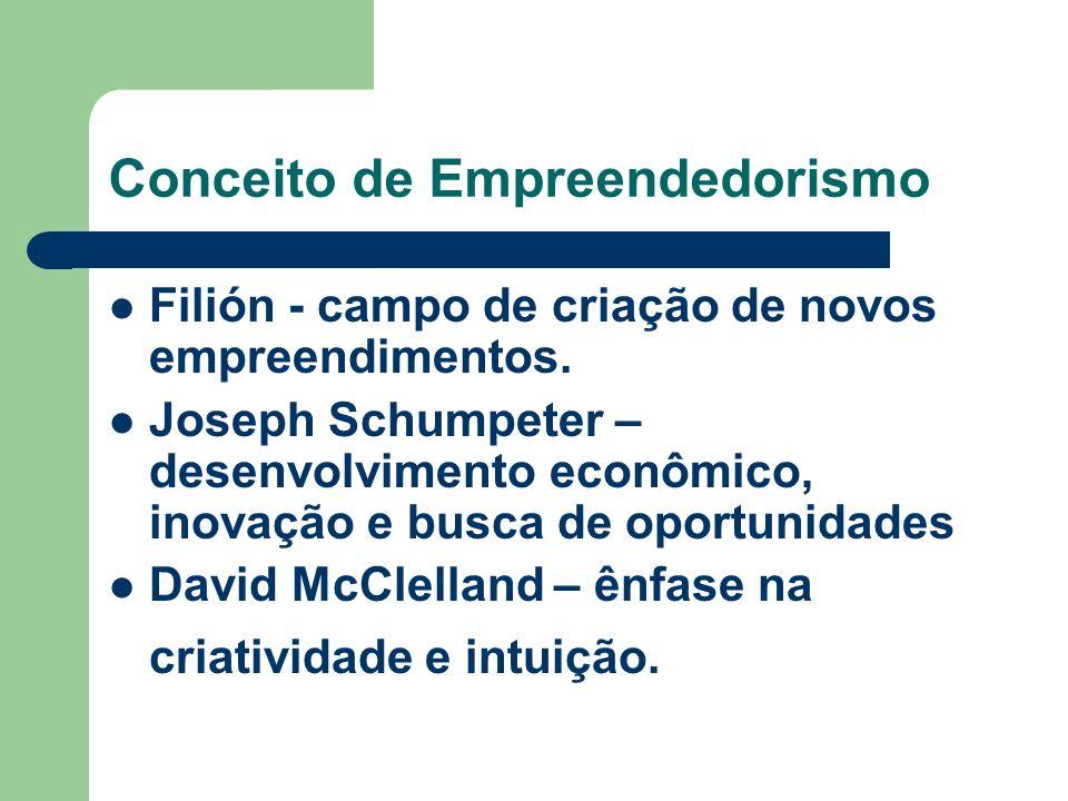 Conceito de Empreendedorismo Filión - campo de criação de novos empreendimentos.