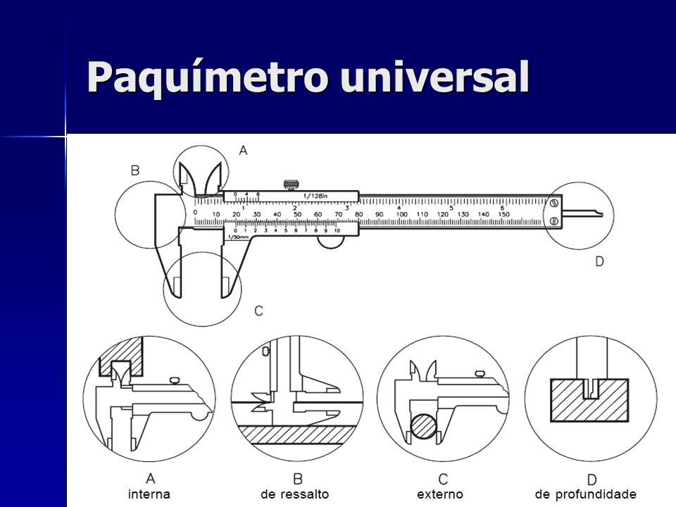Paquímetro universal