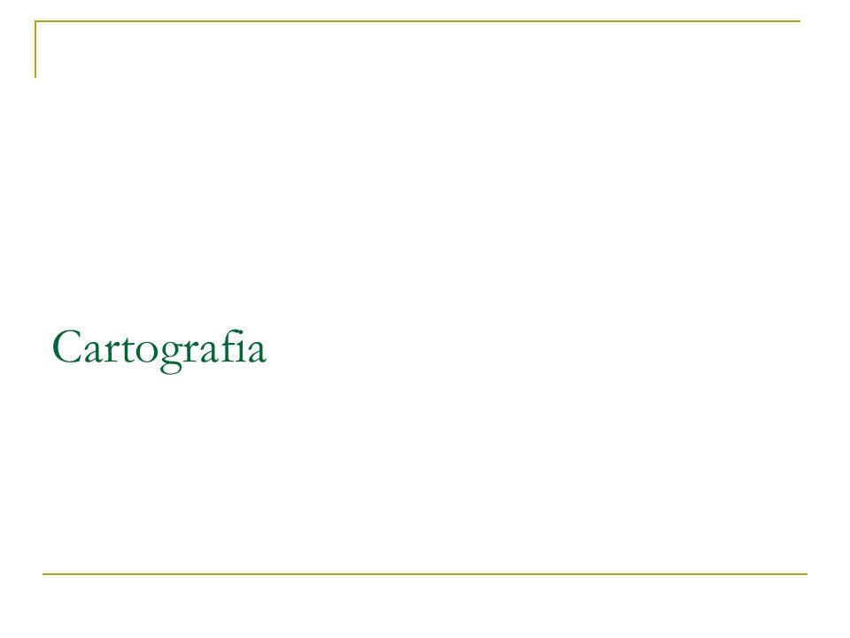 Objetivos Gerais Noções básicas de Cartografia Específicos Definições de Cartografia; Histórico; Classificações; Formas de representação