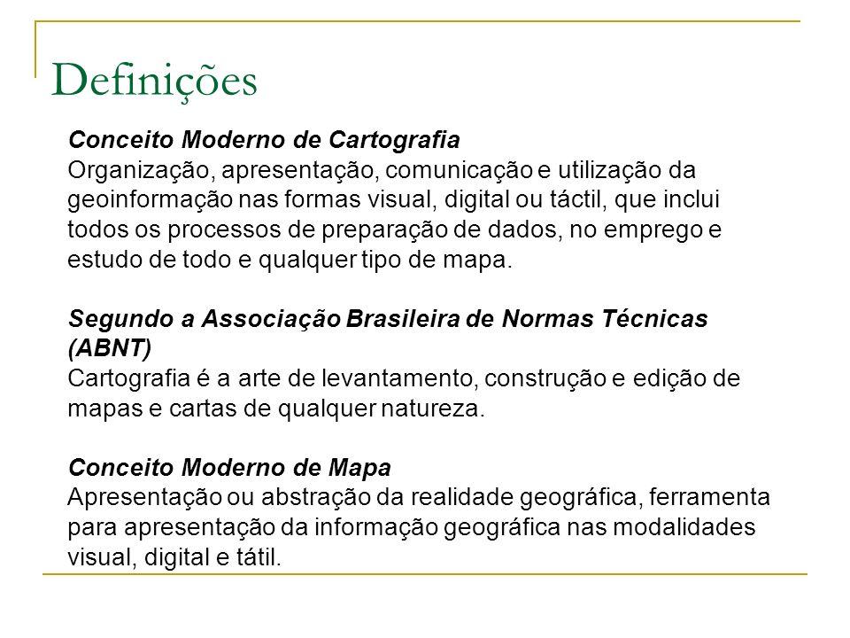 A Cartografia no Brasil A Cartografia, no Brasil, teve seu desenvolvimento a partir da Segunda Guerra Mundial em função dos interesses militares.