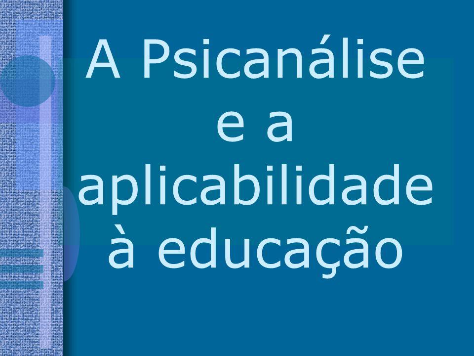 (...) A educação constitui uma profilaxia, que se destina a prevenir (...) tanto a neurose quanto a perversão; a psicoterapia procura desfazer o menos estável dos dois resultados e instituir uma espécie de pós- educação.