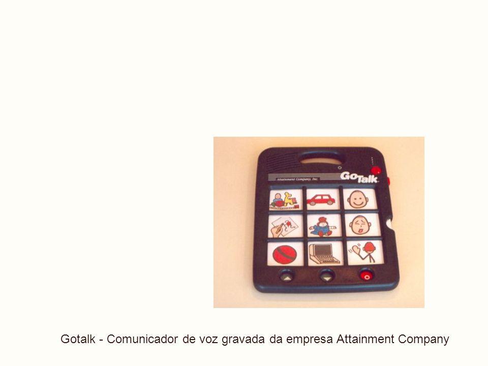 LIBRAS Gotalk - Comunicador de voz gravada da empresa Attainment Company