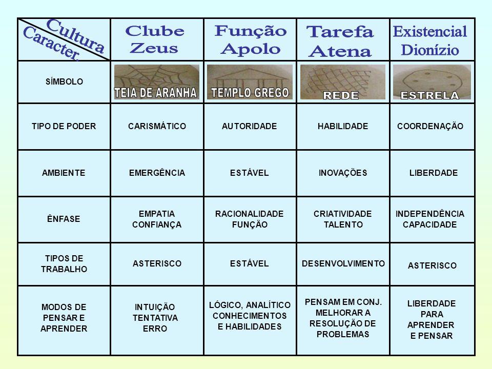 MODOS DE INFLUENCIAR E MUDAR CARISMA INDICAÇÃO AUTORIDADE CRIAR REGRAS PROCEDIMENTOS ETC.