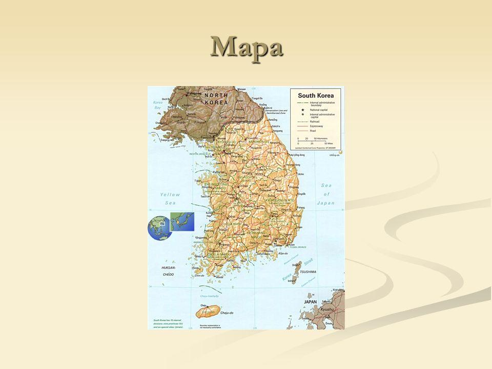 Língua A língua coreana é falada principalmente na Coreia, sendo o idioma oficial da Coreia do Norte e da Coreia do Sul.