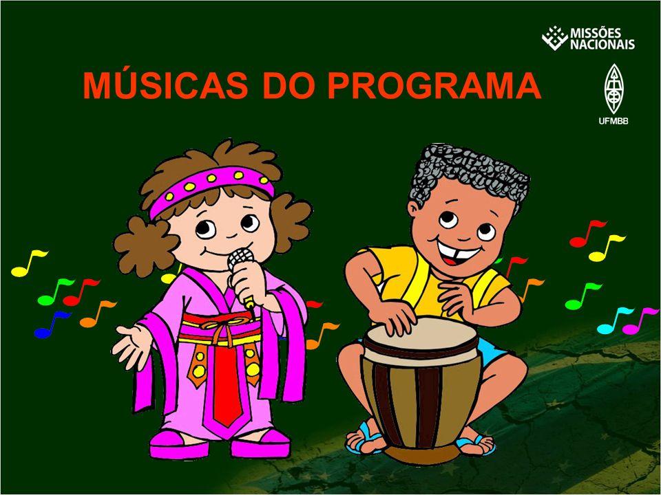 MÚSICAS DO PROGRAMA