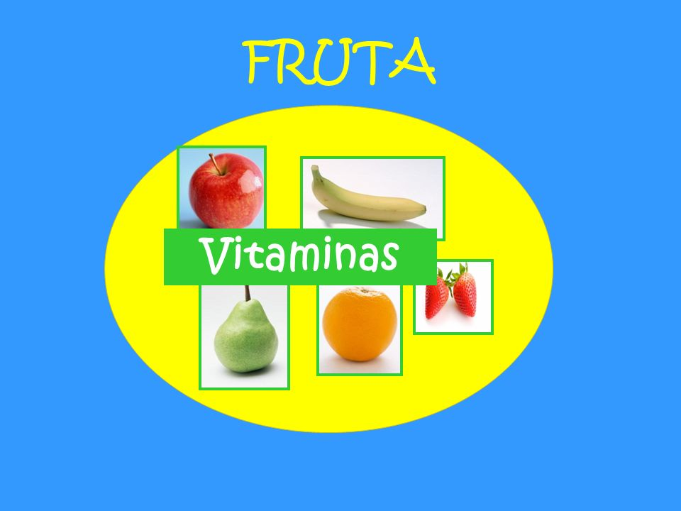 FRUTA Vitaminas