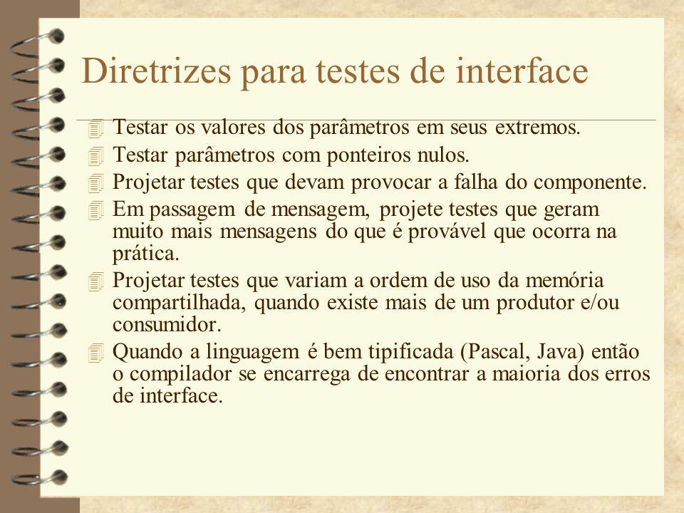 Testes de stress 4 São testes em que a carga do sistema é aumentada constantemente, até que o desempenho do sistema se torne inaceitável.