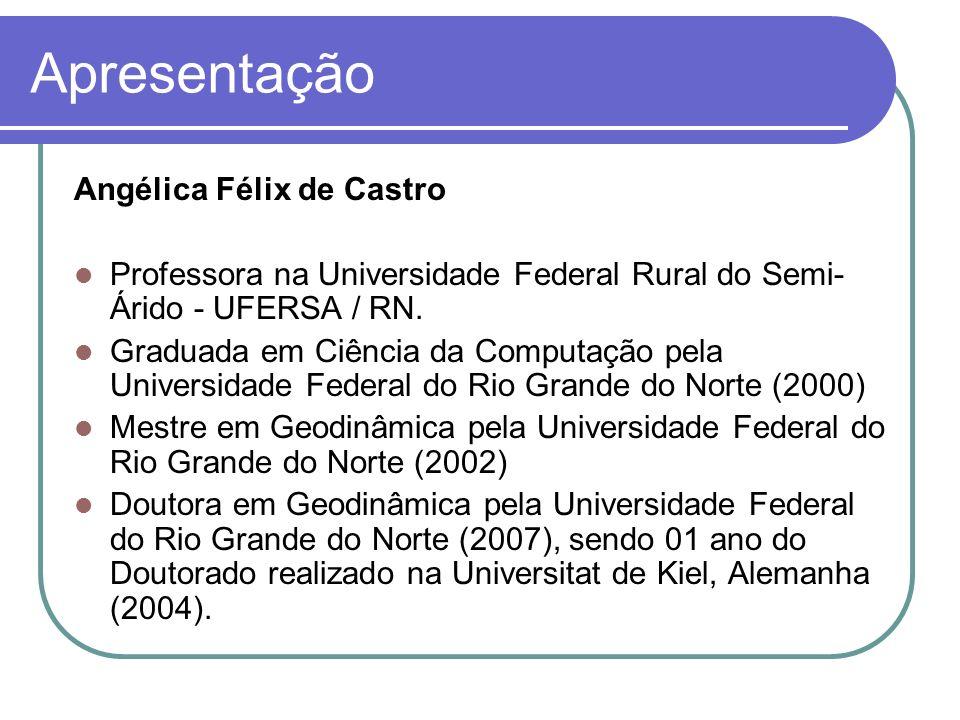 Apresentação Atuação Profissional: 2006-2007: Profa.
