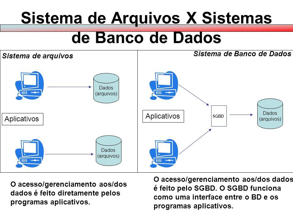 Conjunto de arquivos computadorizados que se inter-relacionam atendendo à demanda de informações de uma aplicação ou de um sistema.