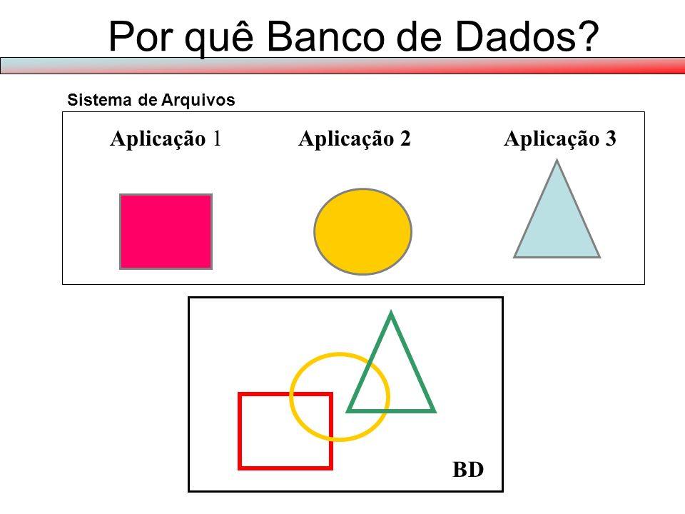 Por quê Banco de Dados.