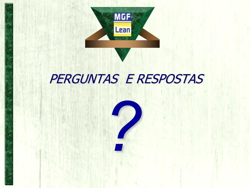 PERGUNTAS E RESPOSTAS ?