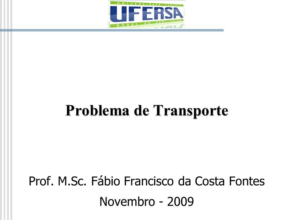 O Problema de Designação O problema de designação é, na realidade, um caso especial do problema de transporte no qual os trabalhadores representam as origens e as tarefas representam os destinos.