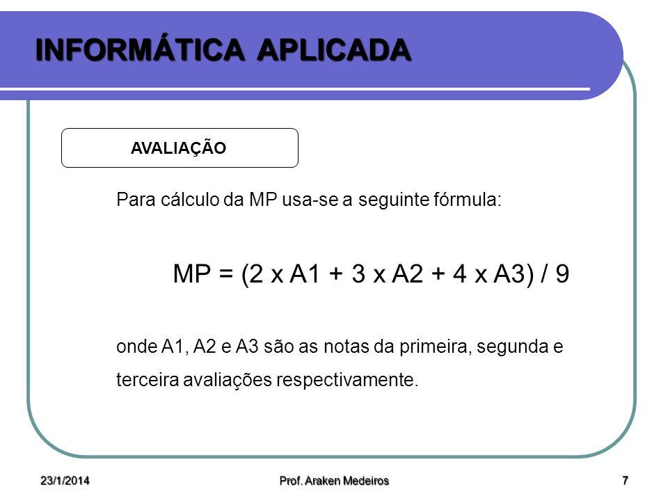 23/1/2014 Prof.