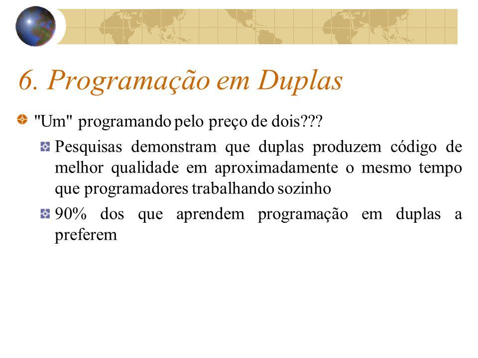 6. Programação em Duplas