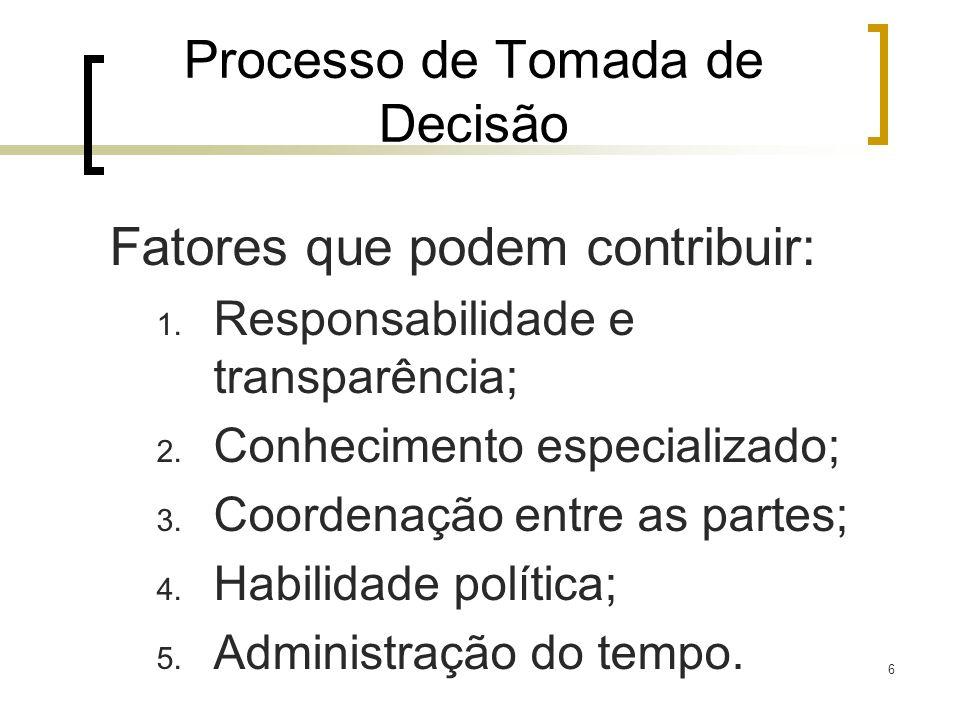 7 Modelo Genérico 1.Defina o problema; 2. Identifique os critérios; 3.