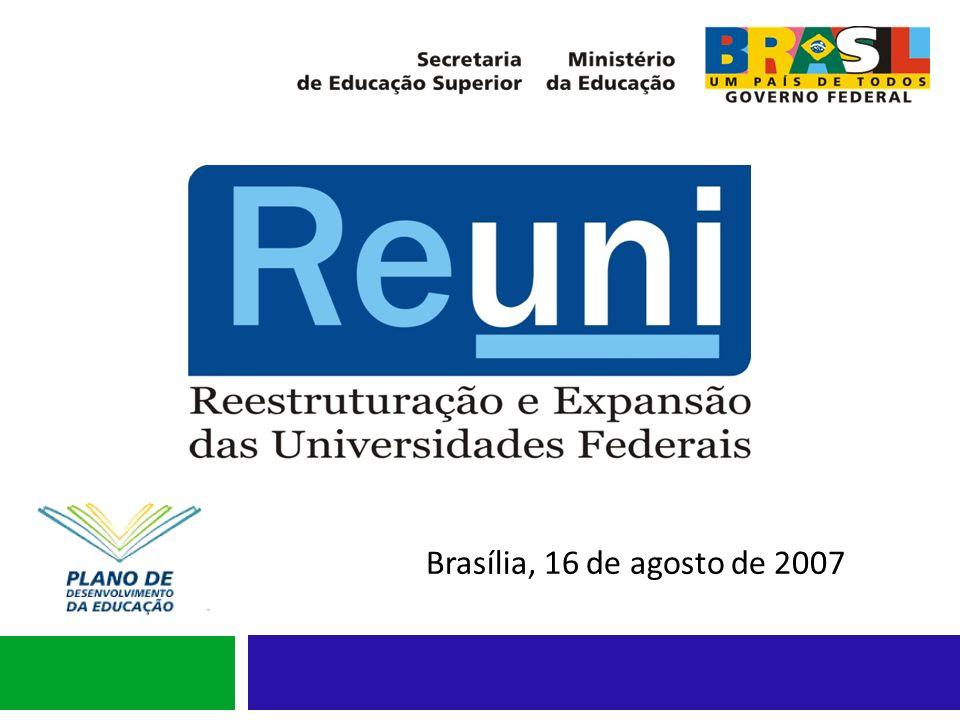 Grupo Assessor Grupo Assessor nomeado pela Portaria nº 552 SESu/MEC, de 25 de junho de 2007, em complemento ao art.