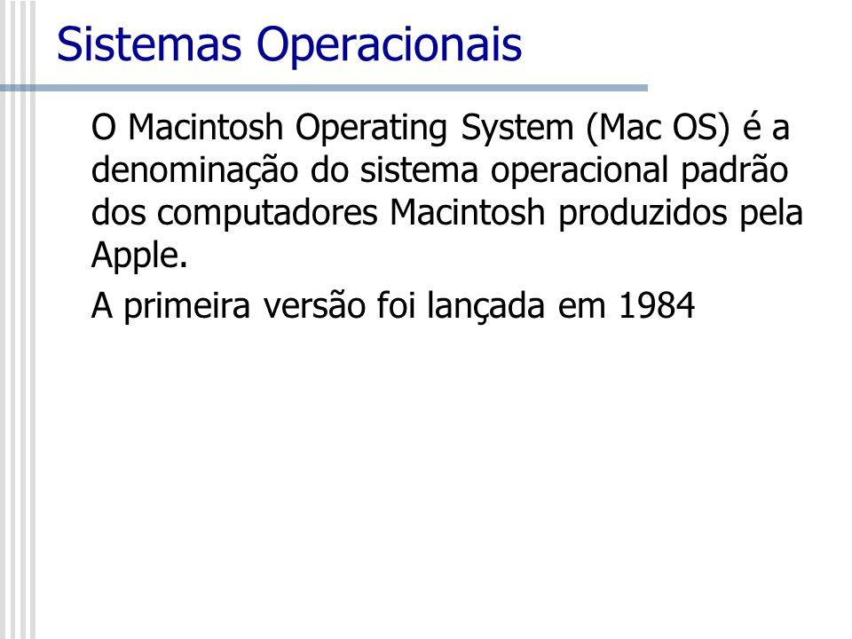 O Macintosh Operating System (Mac OS) é a denominação do sistema operacional padrão dos computadores Macintosh produzidos pela Apple. A primeira versã