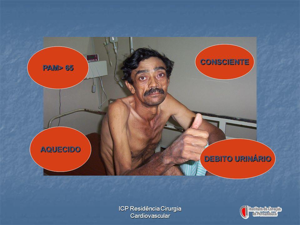 PAM> 65 CONSCIENTE AQUECIDO DEBITO URINÁRIO