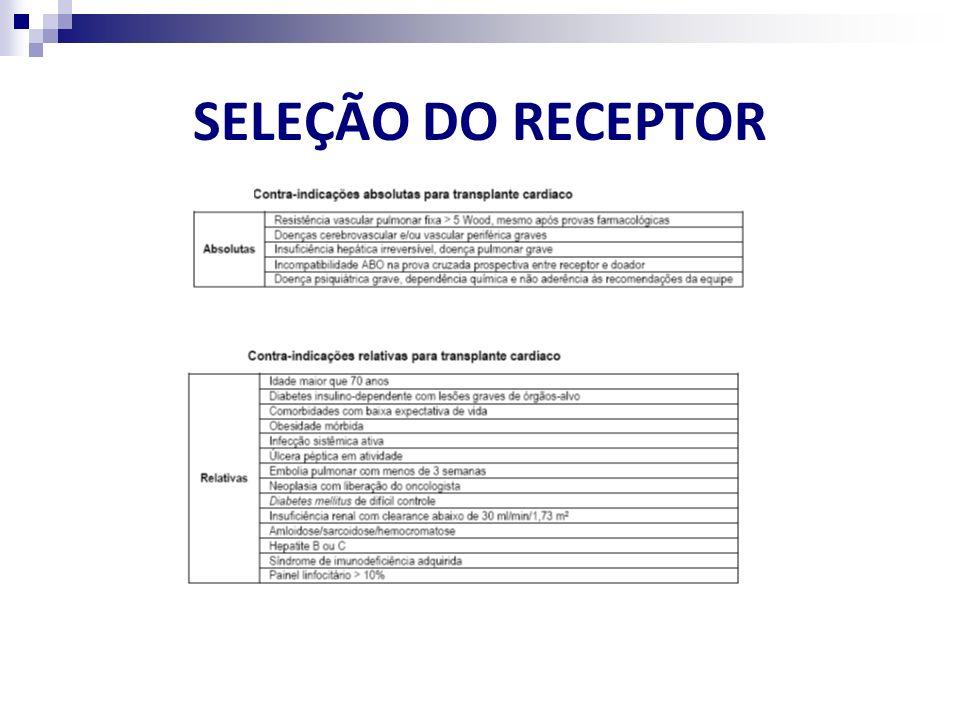 SELEÇÃO DO RECEPTOR