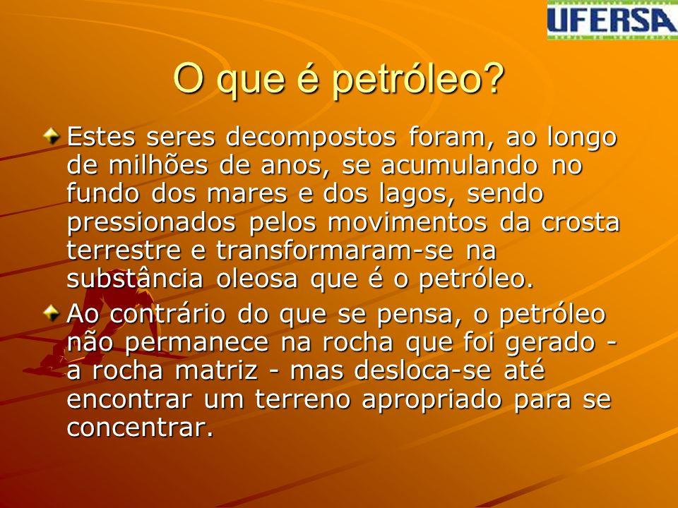 O que é petróleo.