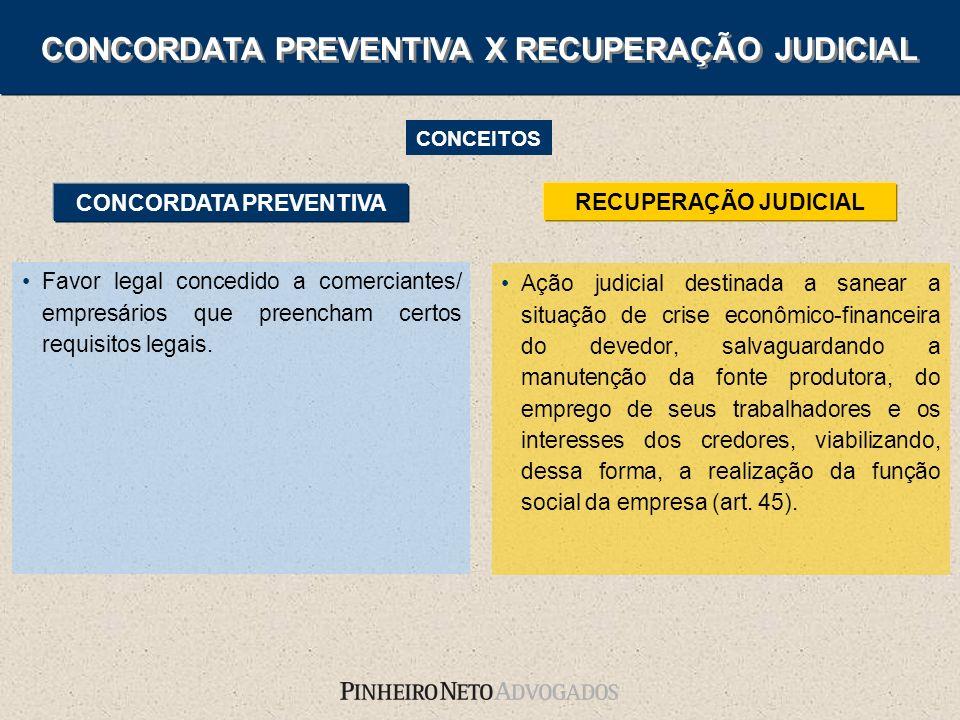 Ação judicial destinada a sanear a situação de crise econômico-financeira do devedor, salvaguardando a manutenção da fonte produtora, do emprego de se