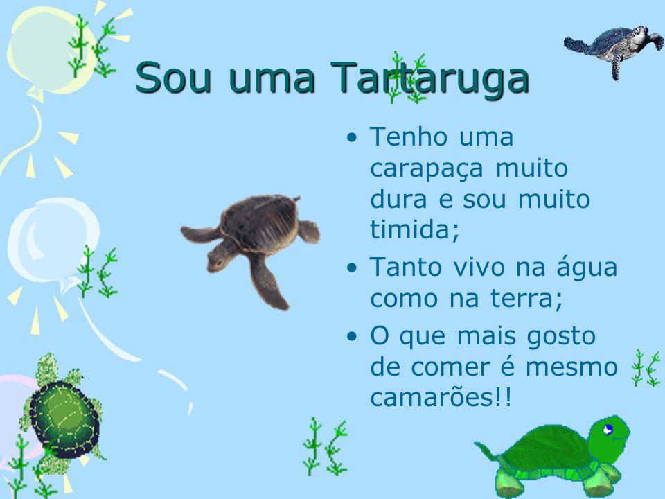 Eu sou o Peixe… Vivo na água nos aquários, mas também posso viver em pequenos lagos; Como sou adoptado pelos meus donos, eles não me comem; UFA!!! Pos