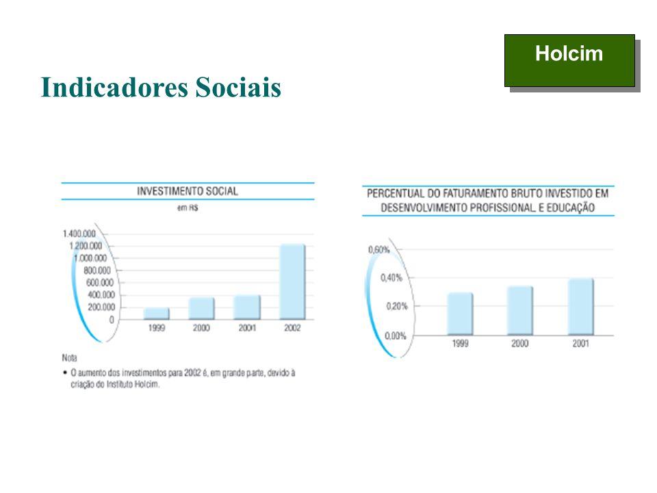 Holcim Indicadores Sociais