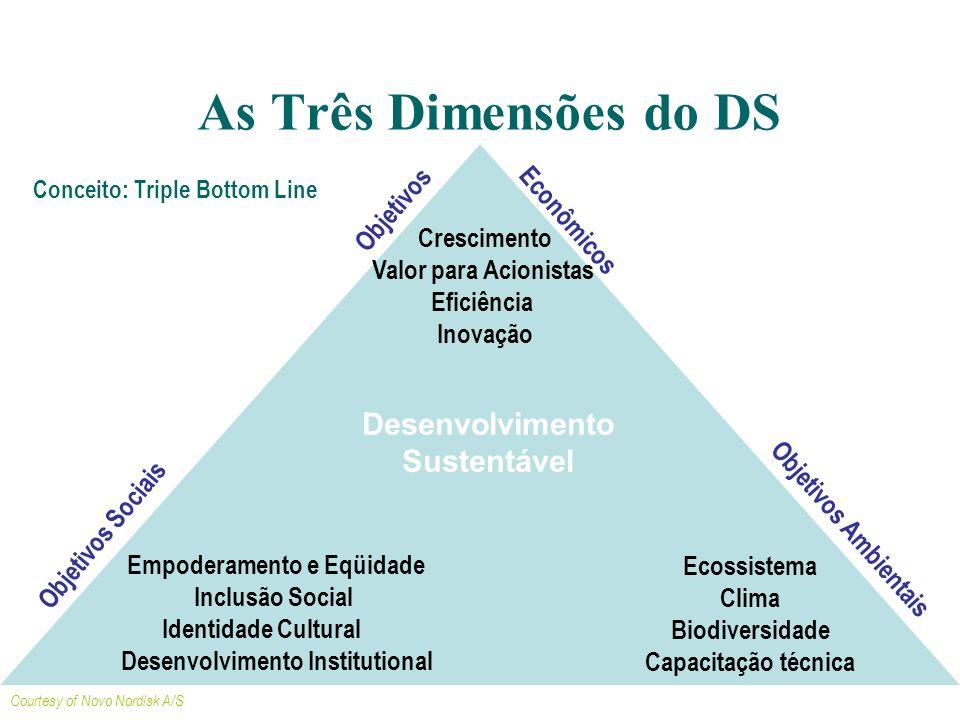 Ecossistema Clima Biodiversidade Capacitação técnica Crescimento Valor para Acionistas Eficiência Inovação Empoderamento e Eqüidade Inclusão Social Id