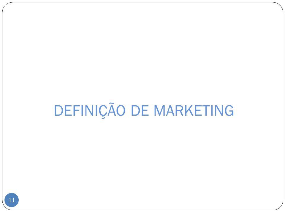DEFINIÇÃO DE MARKETING 11