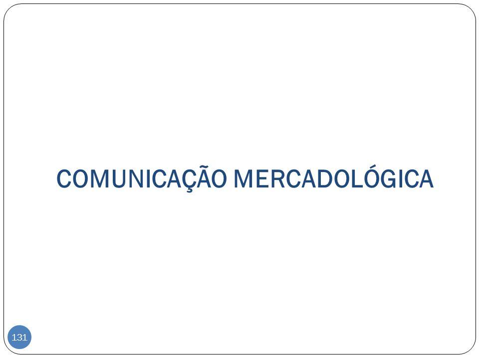 COMUNICAÇÃO MERCADOLÓGICA 131