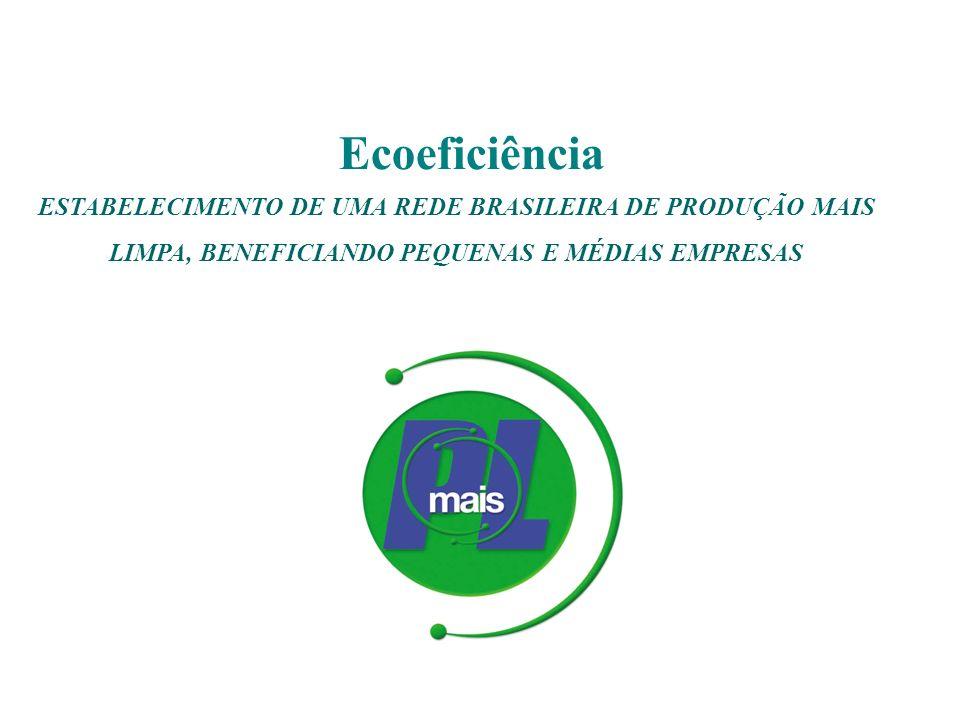 ESTABELECIMENTO DE UMA REDE BRASILEIRA DE PRODUÇÃO MAIS LIMPA, BENEFICIANDO PEQUENAS E MÉDIAS EMPRESAS Ecoeficiência