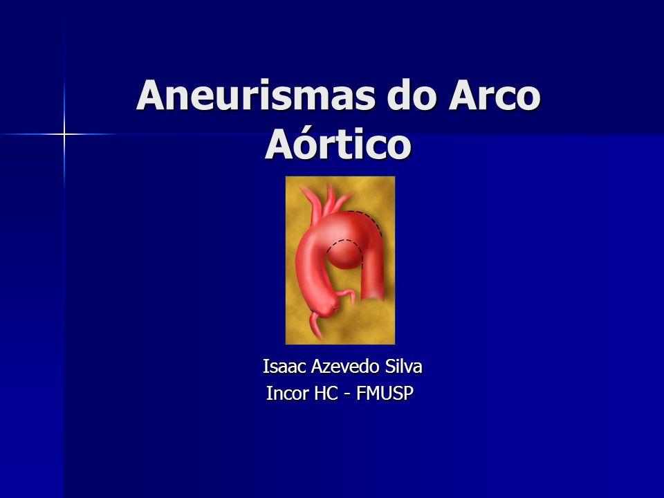 Aneurismas do Arco Aórtico Isaac Azevedo Silva Isaac Azevedo Silva Incor HC - FMUSP Incor HC - FMUSP