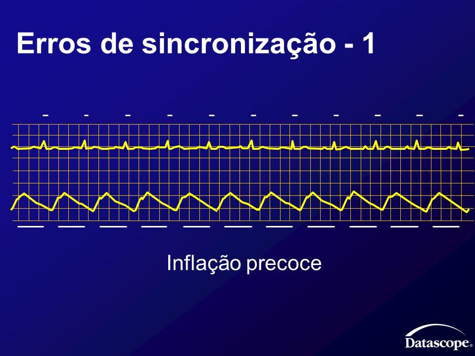 Erros de sincronização - 1 Inflação precoce