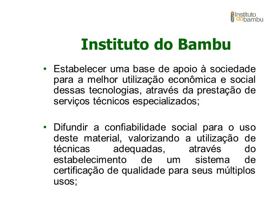 Estabelecer uma base de apoio à sociedade para a melhor utilização econômica e social dessas tecnologias, através da prestação de serviços técnicos es