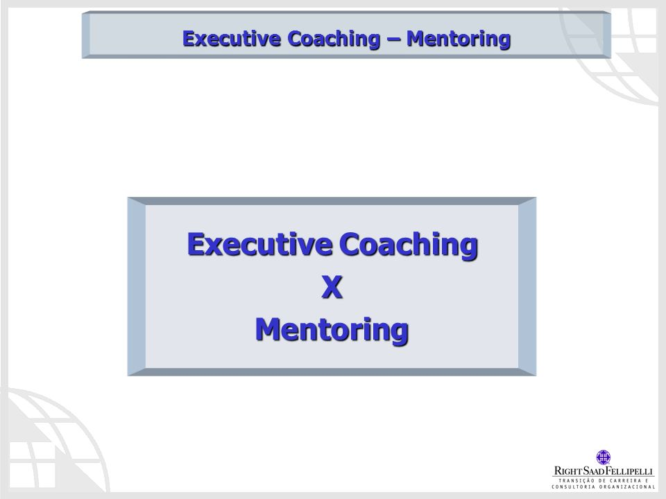 Executive Coaching XMentoring