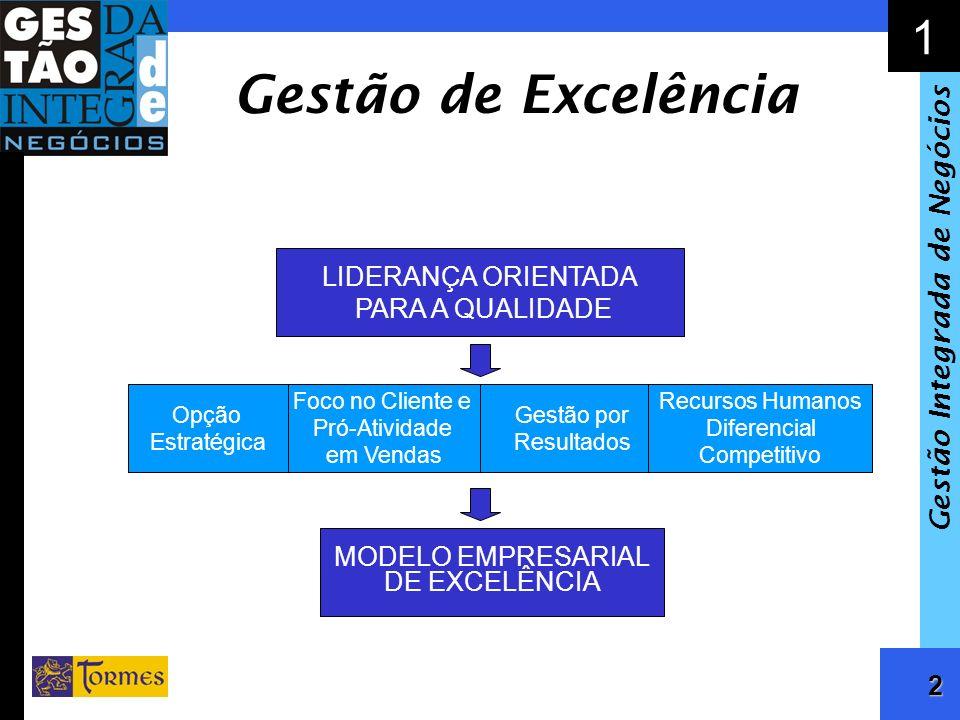 3 1 Gestão Integrada de Negócios Opção Estratégica