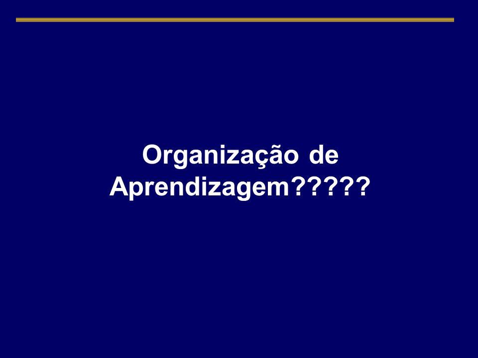 Organização de Aprendizagem?????