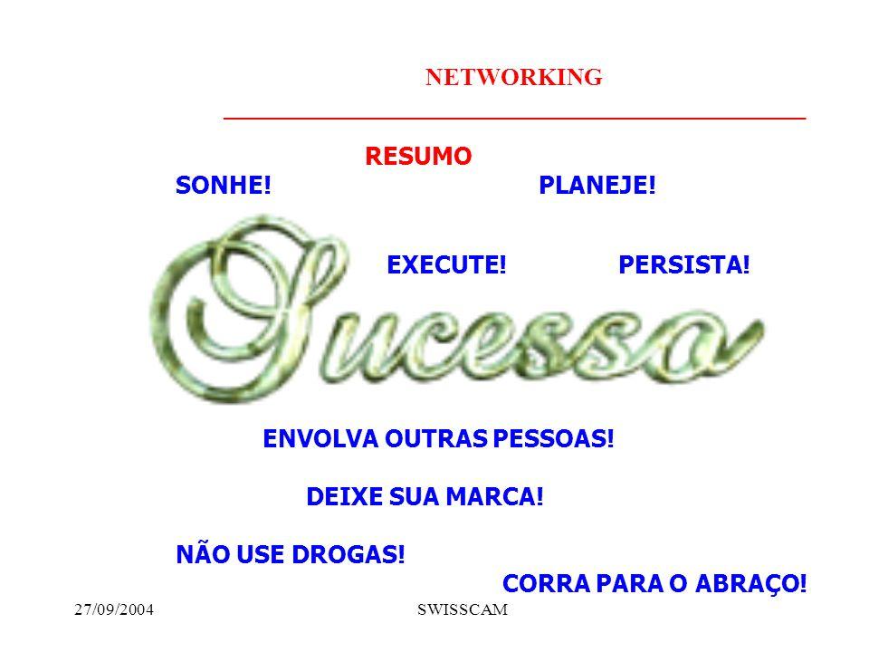 ________________________________________________ 27/09/2004 SWISSCAM SONHE!PLANEJE.