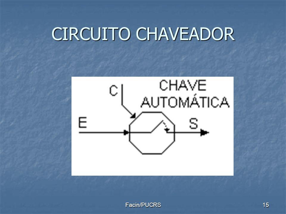 CIRCUITO CHAVEADOR 15Facin/PUCRS