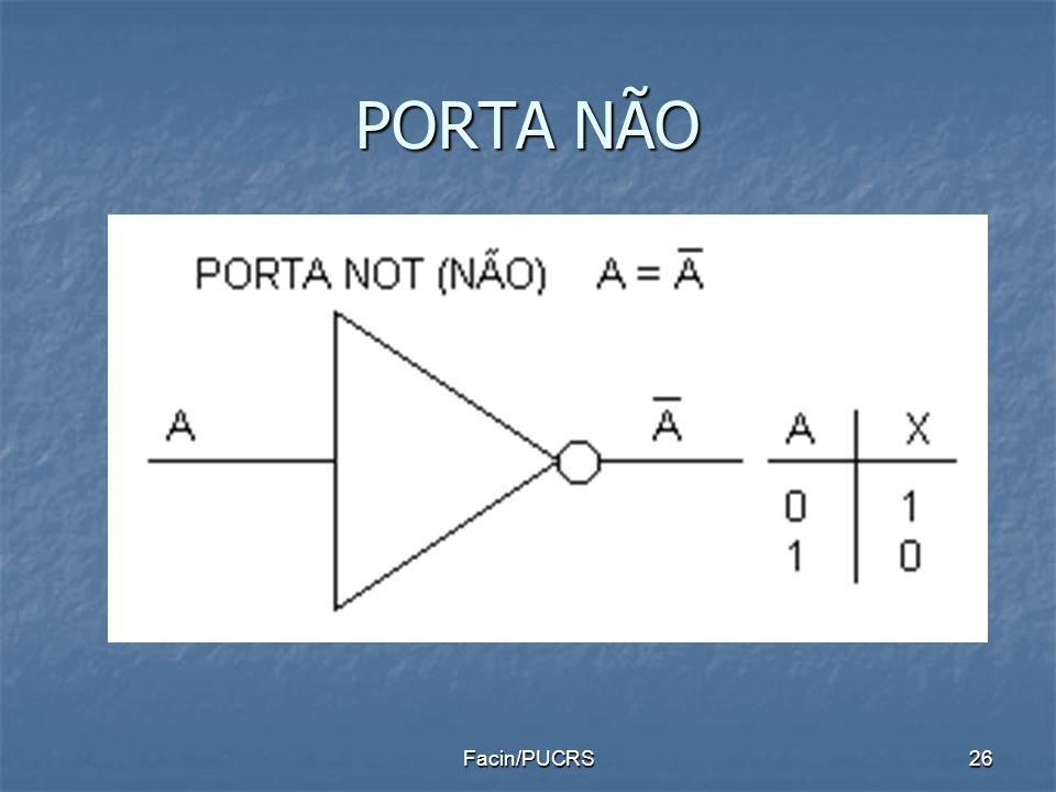 PORTA NÃO 26Facin/PUCRS