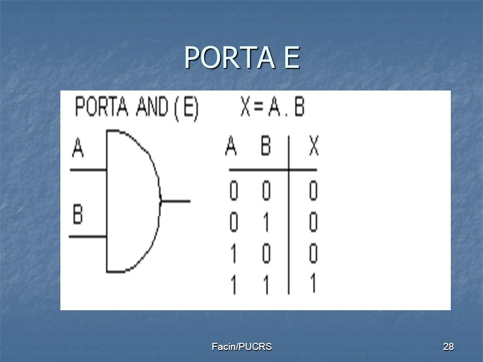 PORTA E 28Facin/PUCRS