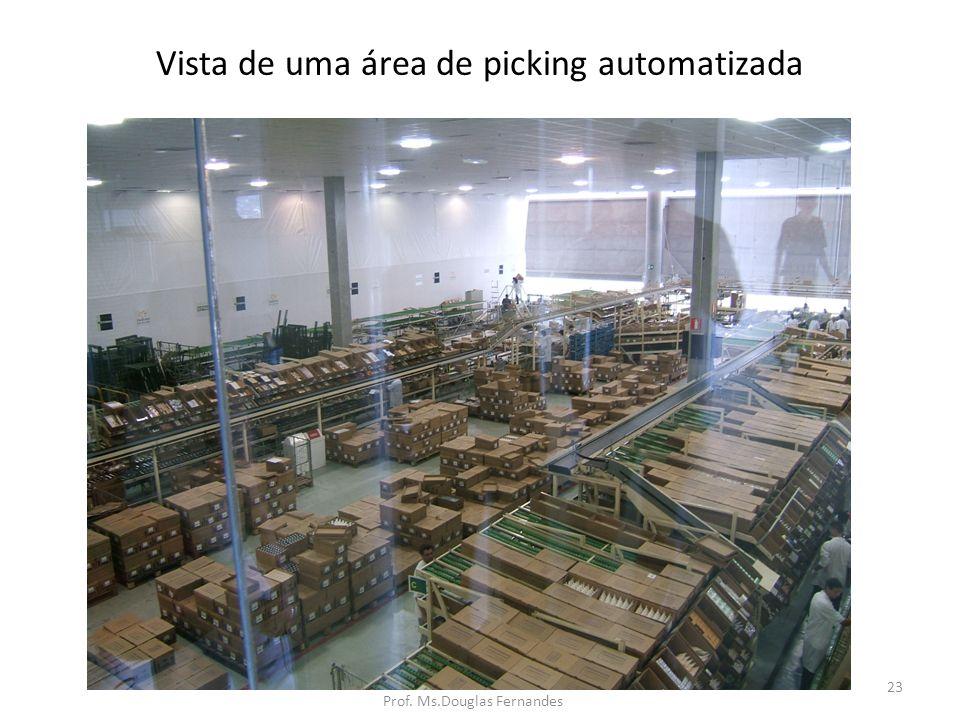 Vista de uma área de picking automatizada 23 Prof. Ms.Douglas Fernandes