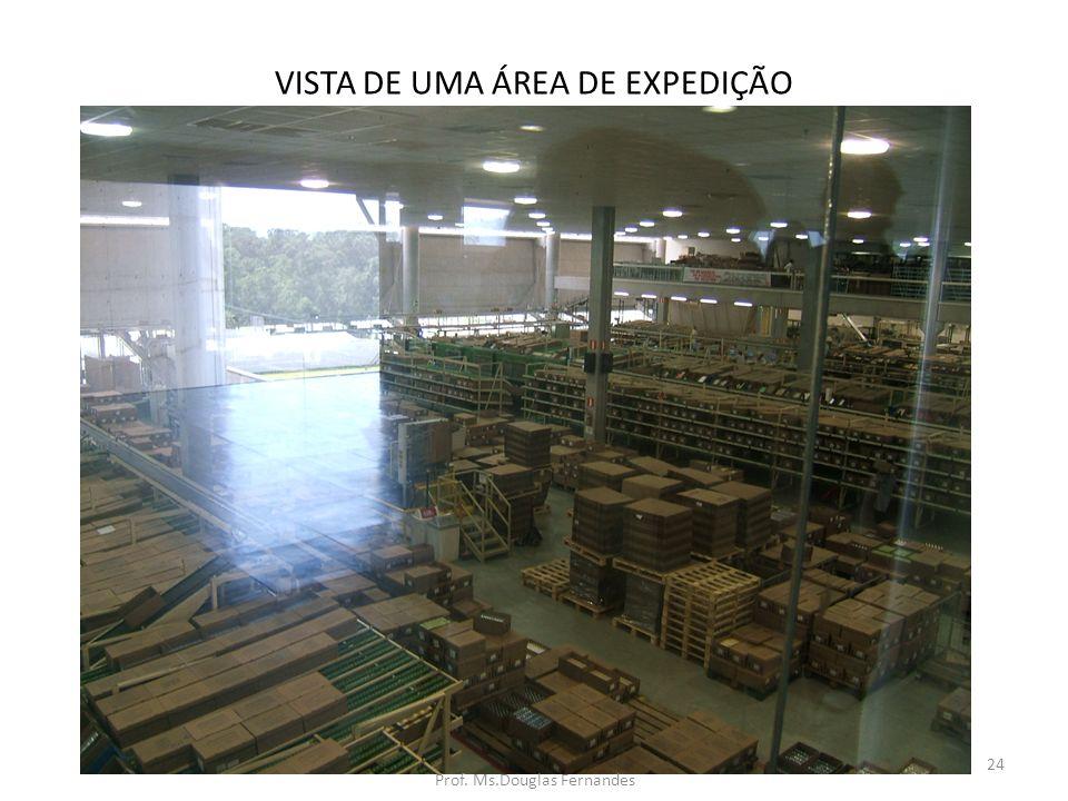 VISTA DE UMA ÁREA DE EXPEDIÇÃO 24 Prof. Ms.Douglas Fernandes