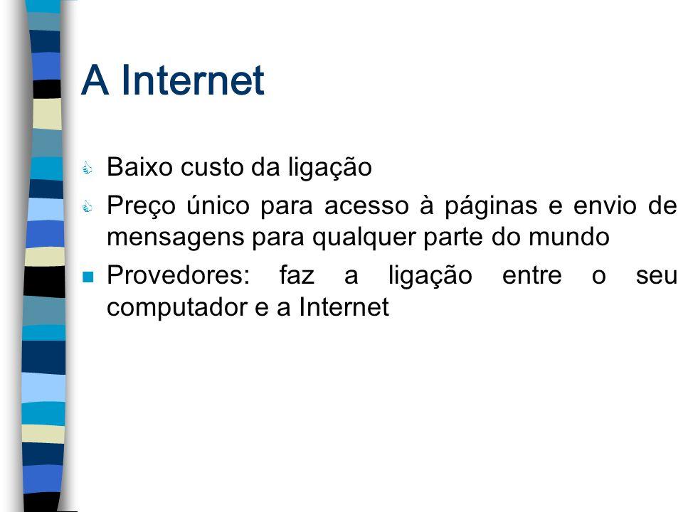 A Internet (Provedor)