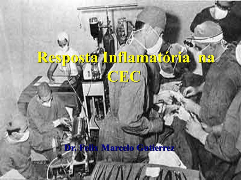 Resposta Inflamatória na CEC Resposta Inflamatória na CEC Dr. Felix Marcelo Gutierrez