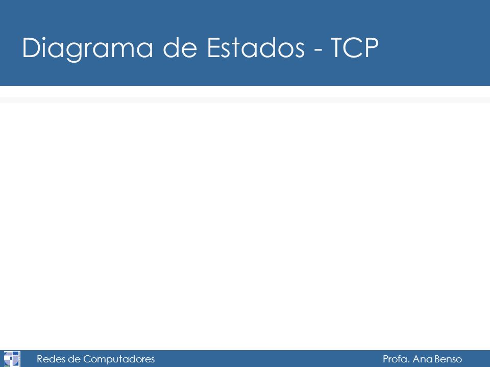 Redes de Computadores Profa. Ana Benso Diagrama de Estados - TCP